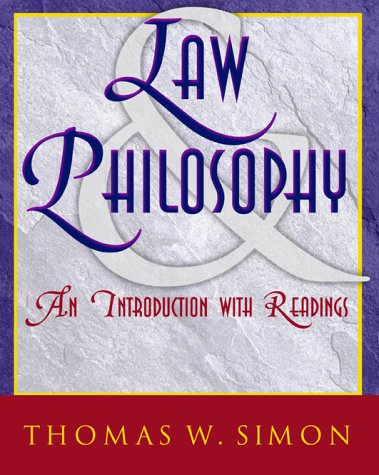 9780070275874: Law and Philosophy: An Introduction with Readings