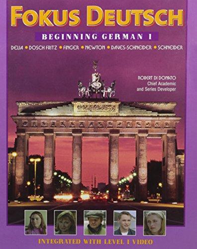 9780070275935: Fokus Deutsch: Beginning German 1