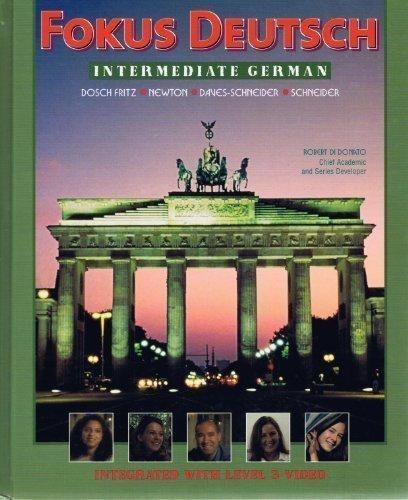9780070275959: Fokus Deutsch, Intermediate German