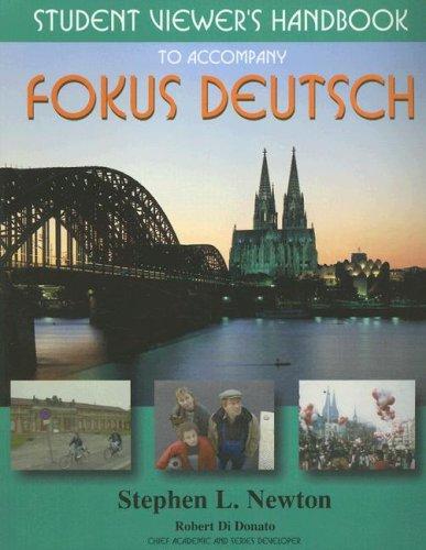 9780070275997: Student Viewer's Handbook to accompany Fokus Deutsch:  Beginning German 1 & 2, and Intermediate German