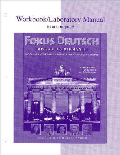 9780070276017: Workbook/Lab Manual to accompany Fokus Deutsch:  Beginning German 2