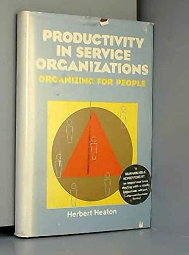 9780070277052: Productivity in Service Organizations