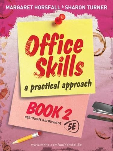 Office Skills - Book 2 (Paperback): Margaret Horsfall
