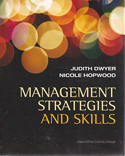 9780070277670: Management Strategies and Skills