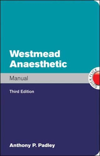9780070278486: Westmead Anaesthetic Manual