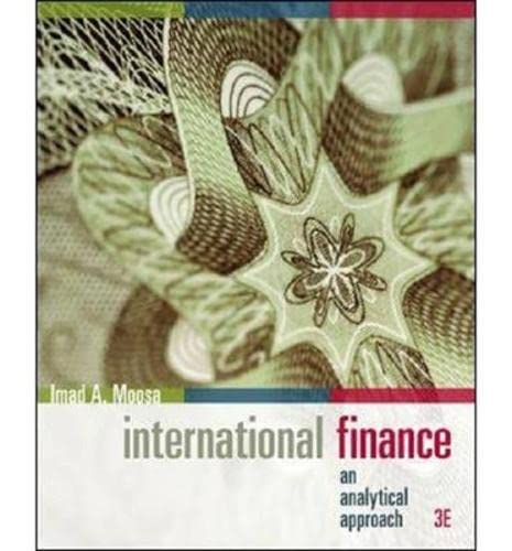 9780070278516: International Finance: An Analytical Approach