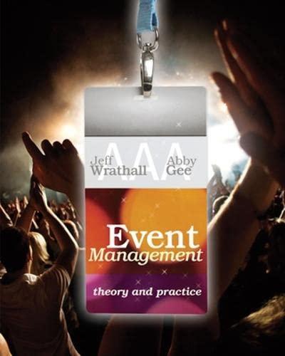 Event Management (Paperback): Jeffrey P. Wrathall