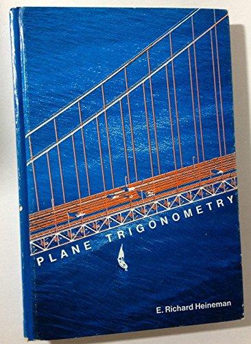 9780070279322: Plane Trigonometry