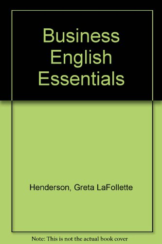 9780070279841: Business English Essentials