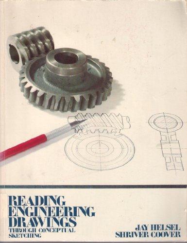 9780070280311: Reading Engineering Drawings Through Conceptual Sketching