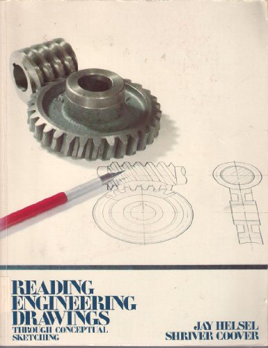 9780070280311: Reading Engineering Drawings Through Conceptual Sketching