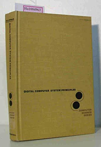 9780070280724: Digital Computer System Principles (Computer Science)