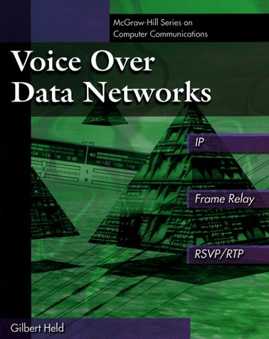 9780070281356: Voice Over Data Networks: Covering IP and Frame Relay