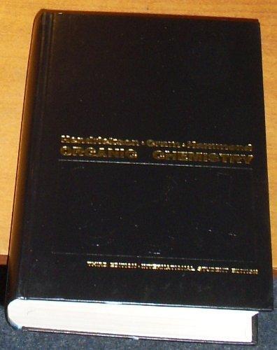 9780070281509: Organic Chemistry (McGraw-Hill series in undergraduate chemistry)