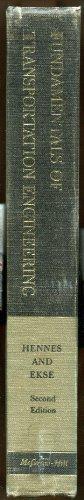 Fundamentals of Transportation Engineering (Civil Engineering): Robert G. Hennes;