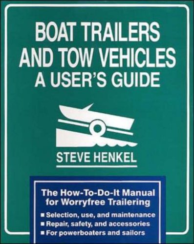 9780070282056: Boat Trailers and Tow Vehicles: A User's Guide