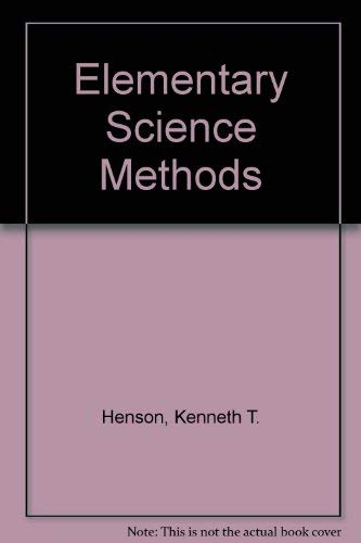 9780070282650: Elementary Science Methods