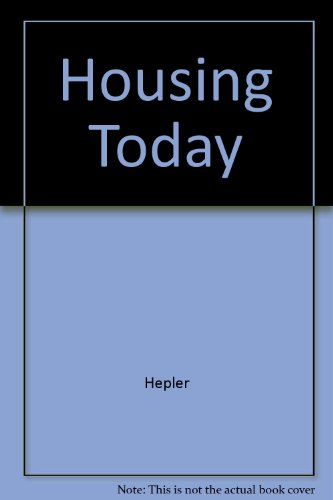 9780070282865: Housing Today