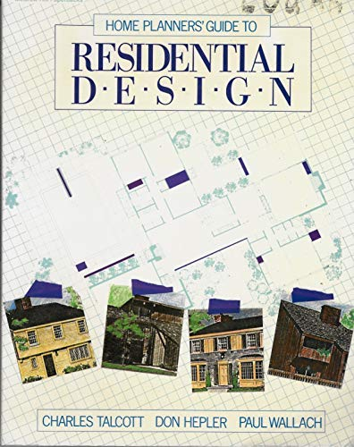 9780070283060: Home Planners' Guide to Residential Design
