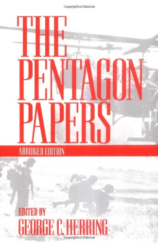 The Pentagon Papers (007028380X) by Herring, George