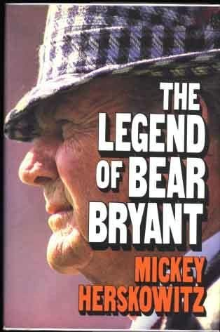 9780070283985: The Legend of Bear Bryant