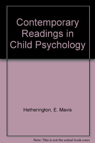 9780070284265: Contemporary Readings in Child Psychology