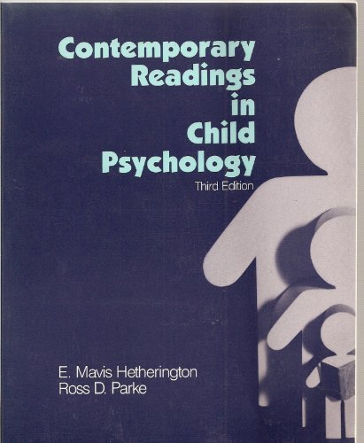 9780070284371: Contemporary Readings in Child Psychology