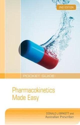 Pocket Guide: Pharmacokinetics Made Easy (Paperback): Donald J. Birkett