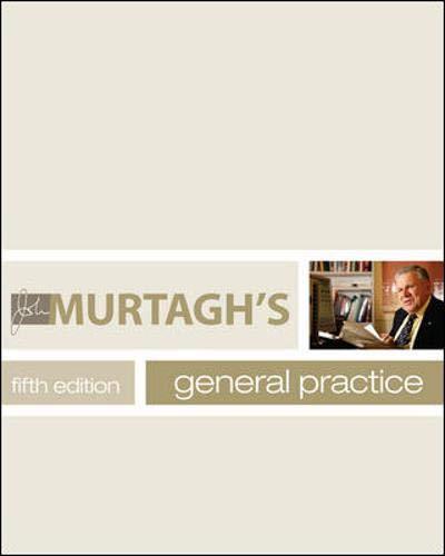 9780070285385: John Murtagh's General Practice