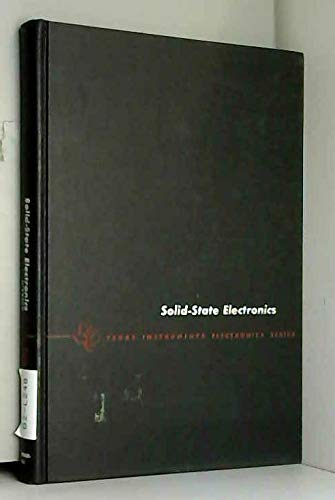 9780070286504: Solid State Electronics