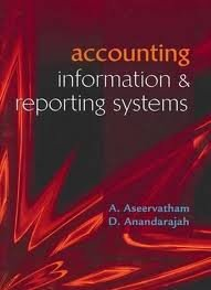 9780070286733: Accouniting Information & Reporting Systems
