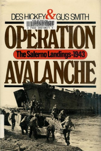 9780070286825: Operation Avalanche: The Salerno Landings 1943