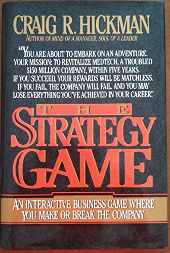 9780070287242: The Strategy Game