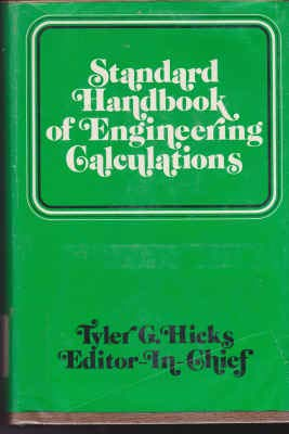 9780070287341: Standard Handbook of Engineering Calculations (McGraw-Hill handbook series)