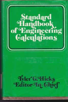 9780070287341: Standard Handbook of Engineering Calculations