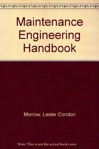 9780070287556: Maintenance Engineering Handbook