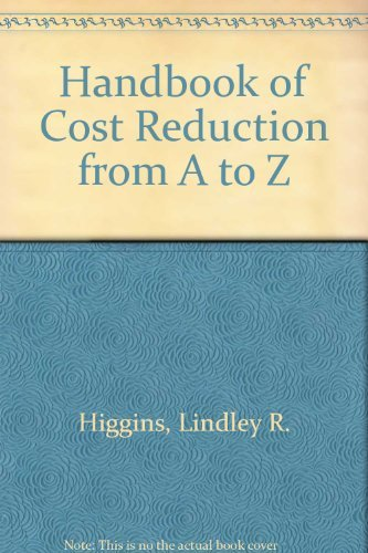 Cost Reduction from A to Z