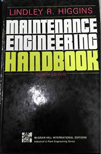 9780070287662: Maintenance Engineering Handbook