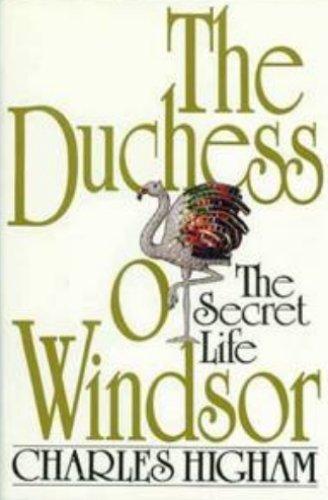 9780070288010: The Duchess of Windsor: The Secret Life