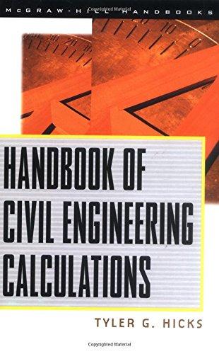 9780070288140: Handbook of Civil Engineering Calculations