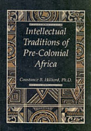 9780070288980: The Intellectual Traditions of Pre-Colonial Africa