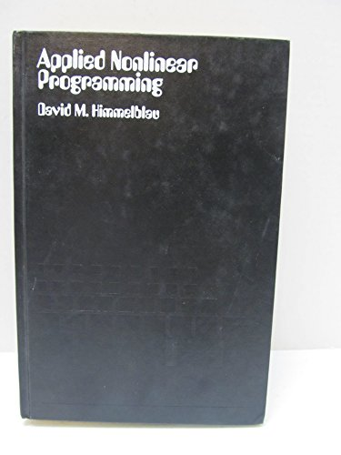 9780070289215: Applied Nonlinear Programming