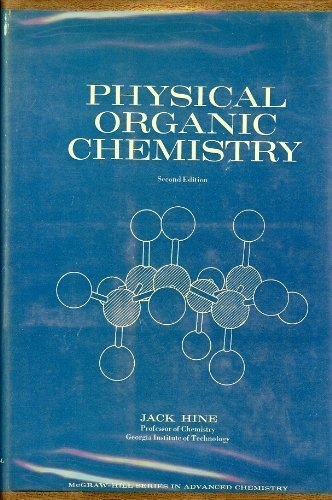 9780070289291: Physical Organic Chemistry: Second Edition