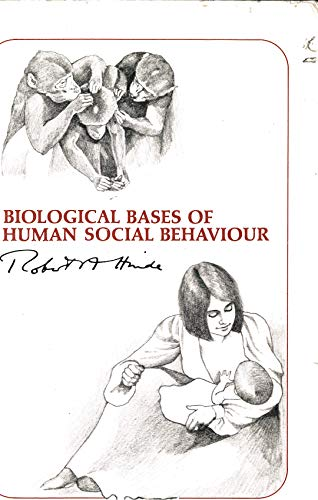 9780070289314: Biological Bases of Human Social Behaviour