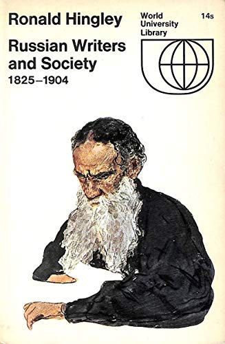 9780070289406: Russian Writers and Society 1825-1904