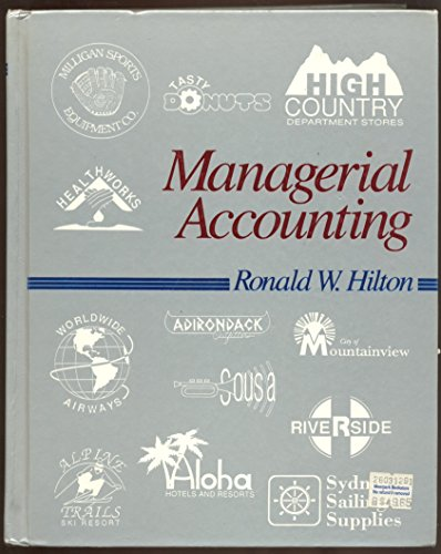 9780070289635: Managerial Accounting