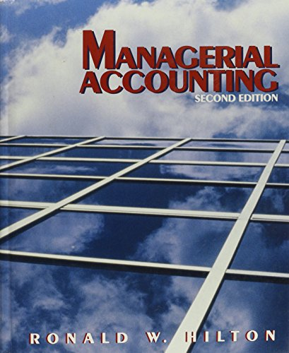 9780070289871: Managerial Accounting