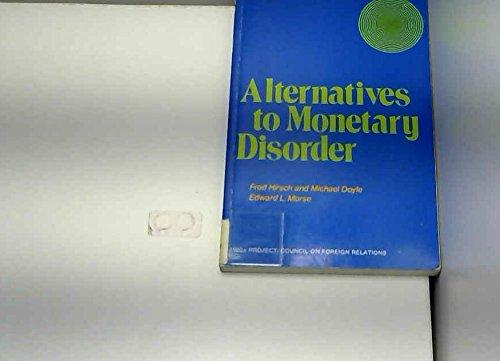9780070290471: Alternatives to Monetary Disorder