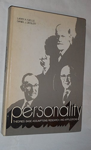 9780070290617: Personality Theories: Basic Assumptions, Research and Applications (Psychology)