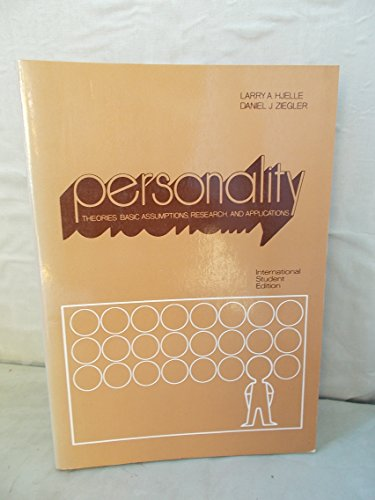 9780070290631: Personality theories: Basic assumptions, research, and applications (McGraw-Hill series in psychology)